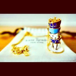 ♣️ Kate Spade TeaTime Pendant Necklace